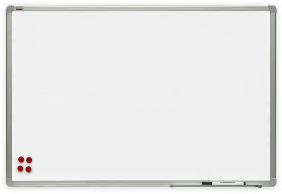 2x3 Bílá magnetická tabule Premium 120x180