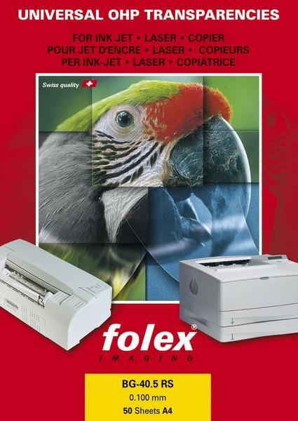 Folex Sticky Jet W O - bílá lesklá samolepka A4