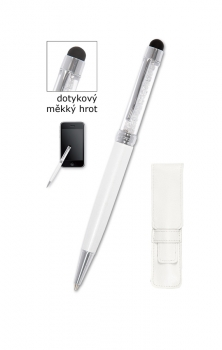 Kuličkové pero CONCORDE Aura Touch, bílá